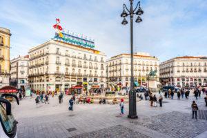 Puerta Del Sol Donde Nace Madrid