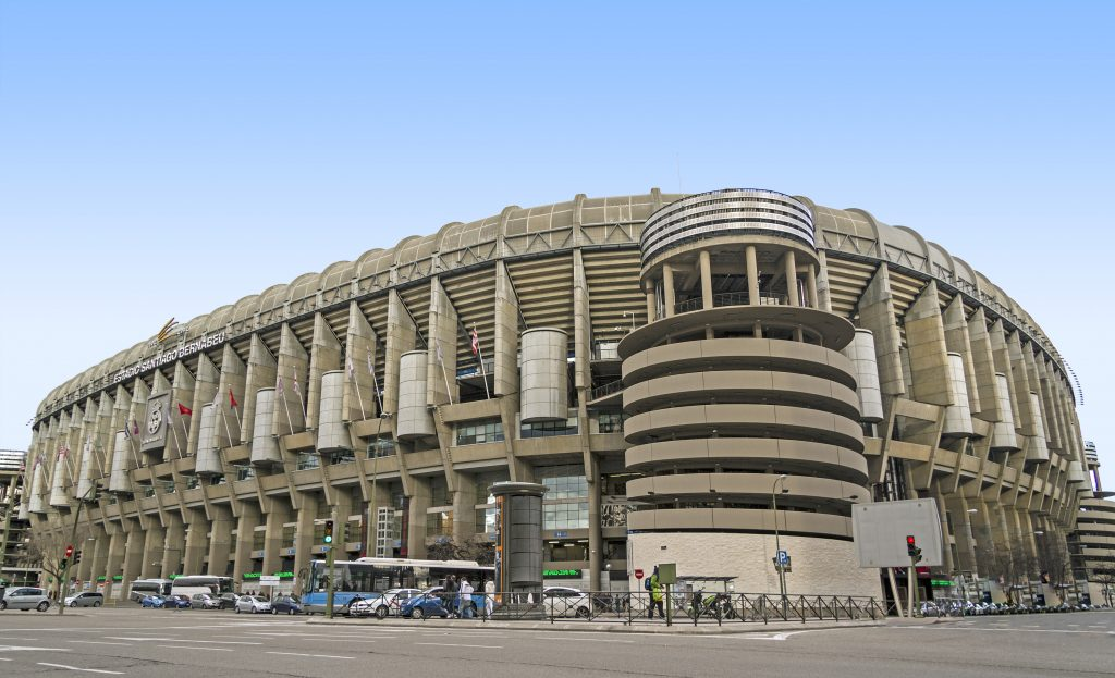 Estadio del Real Madrid (Santiago Bernabéu)